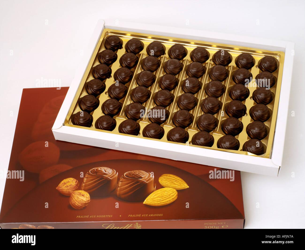 Box of Lindt Chocolates Stock Photo, Royalty Free Image: 4558201 ...