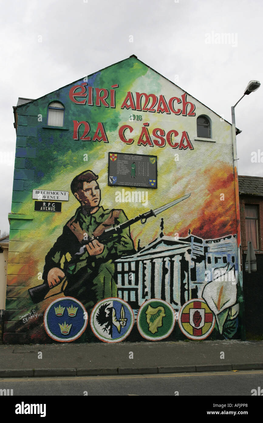 1916 dublin easter rising commemoration republican wall for Dublin wall mural