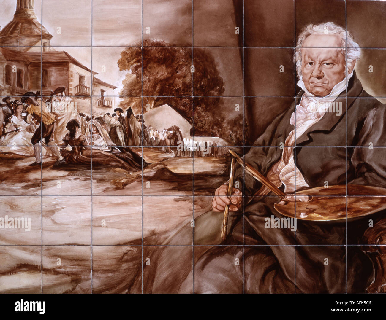 Wall That Goya Painted