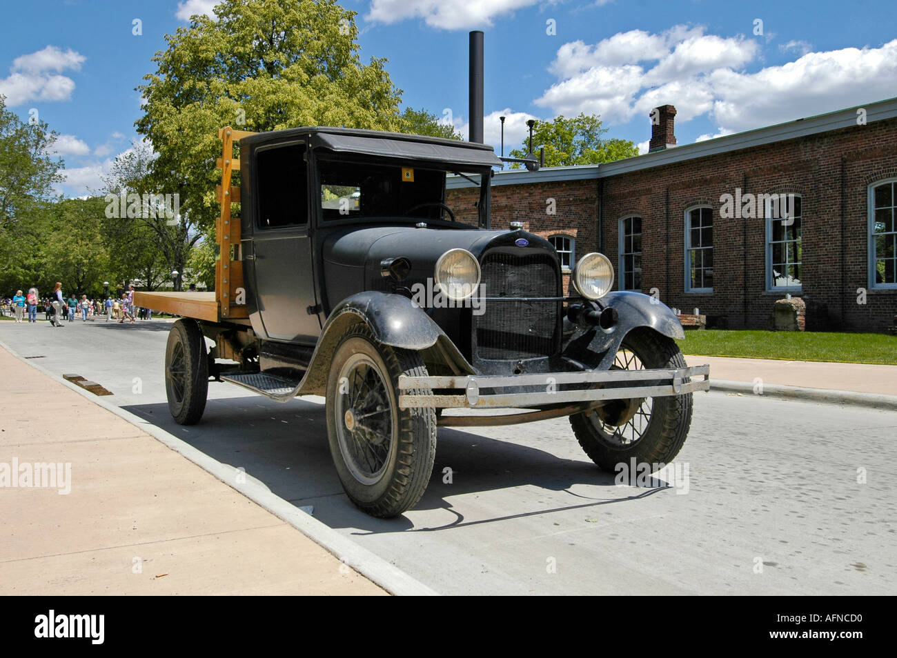 Delivery truck at Historic Greenfield Village and Henry Ford
