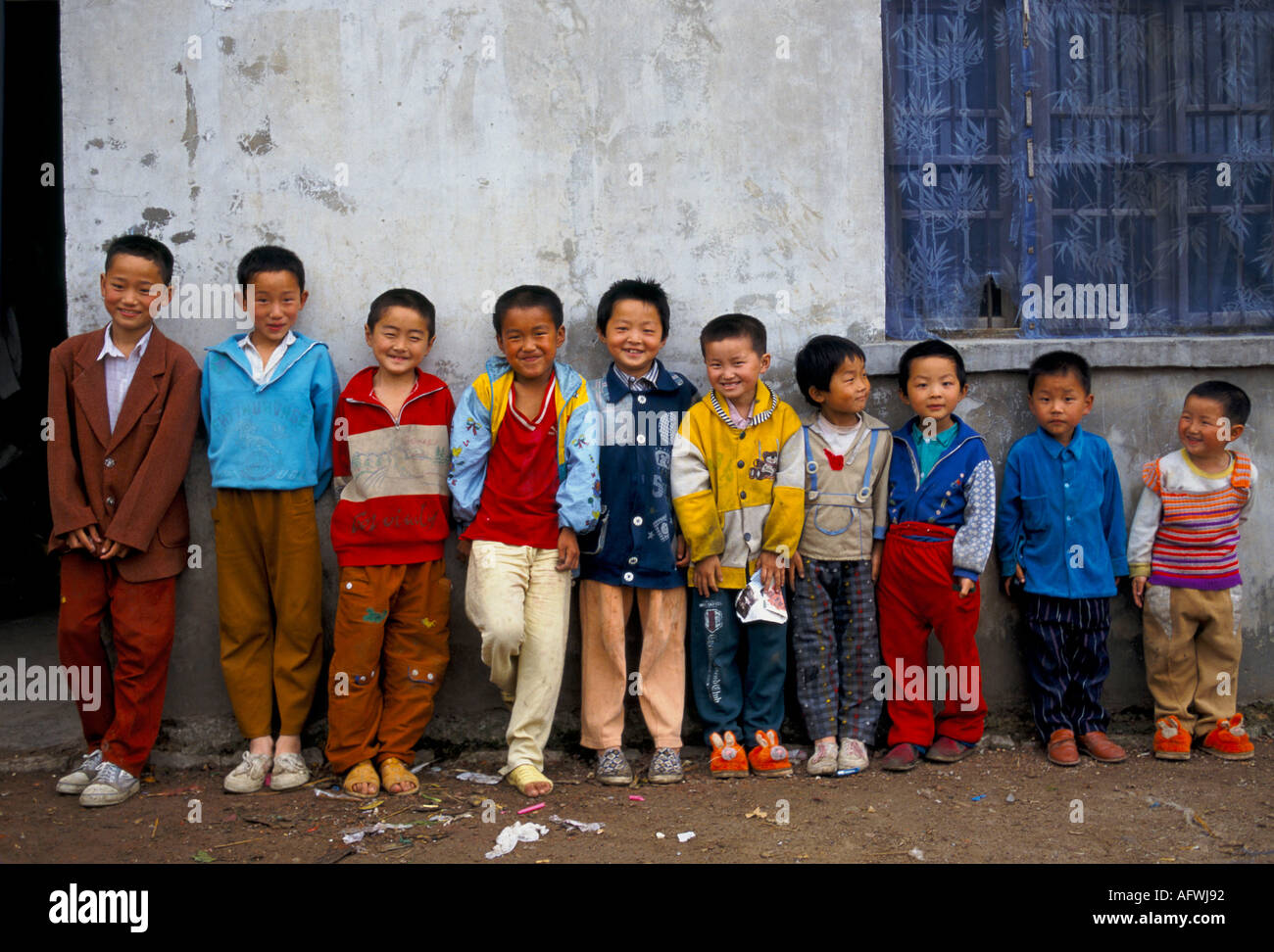 China All Boys Liufu Village Anhui Province Abnormally High Ratio