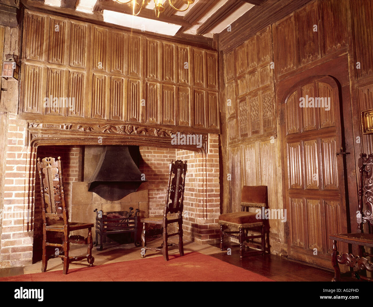 Country houses interior - Stock Photo Architecture Buildings Villas Country Houses City Palace English Country House Interior View Great Britain Historic H