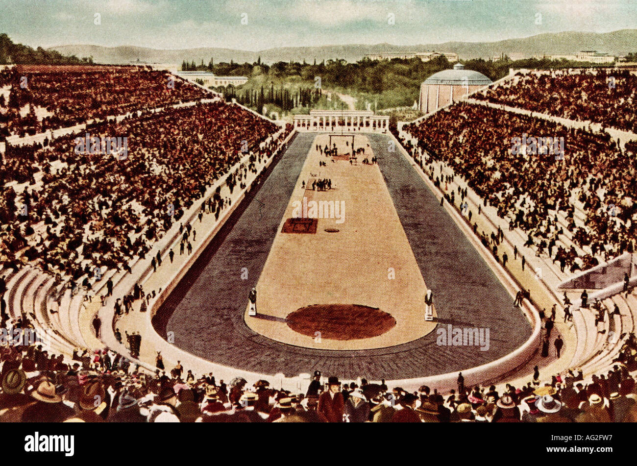 Sports olympic games stadium athens greece 1896 for The olympia