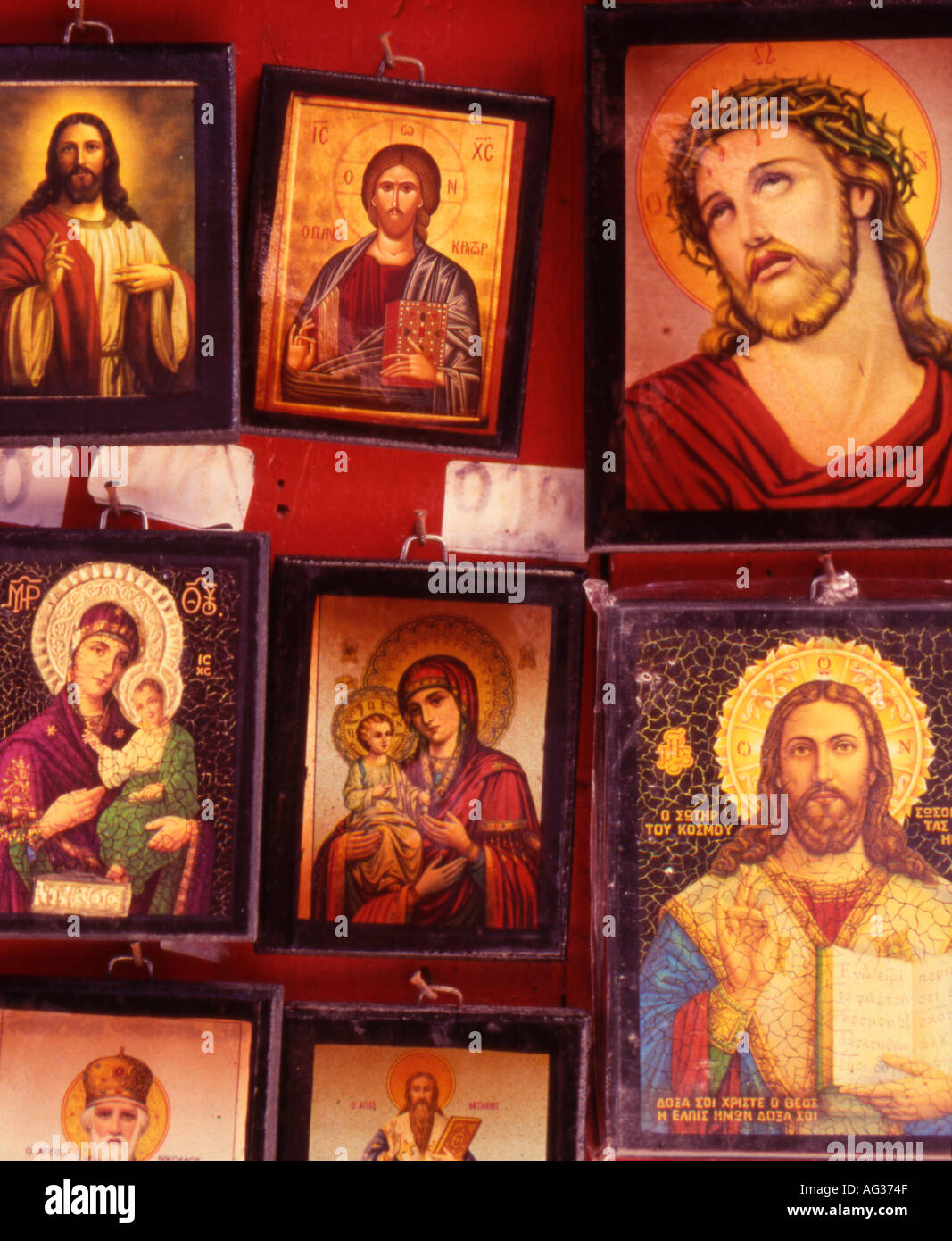 greece western crete copies of religious icons for sale in chania