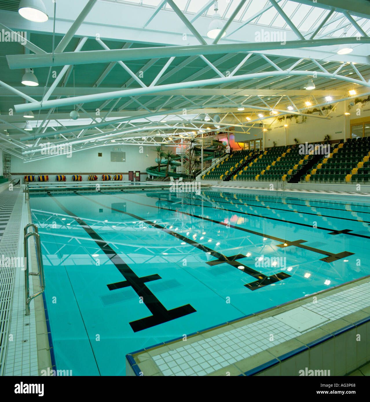 cheshire stockport grand central swimming pool stock photo royalty free image 4598375 alamy