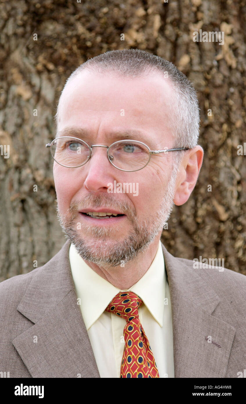 British author John Sam Jones who writes about the lives of