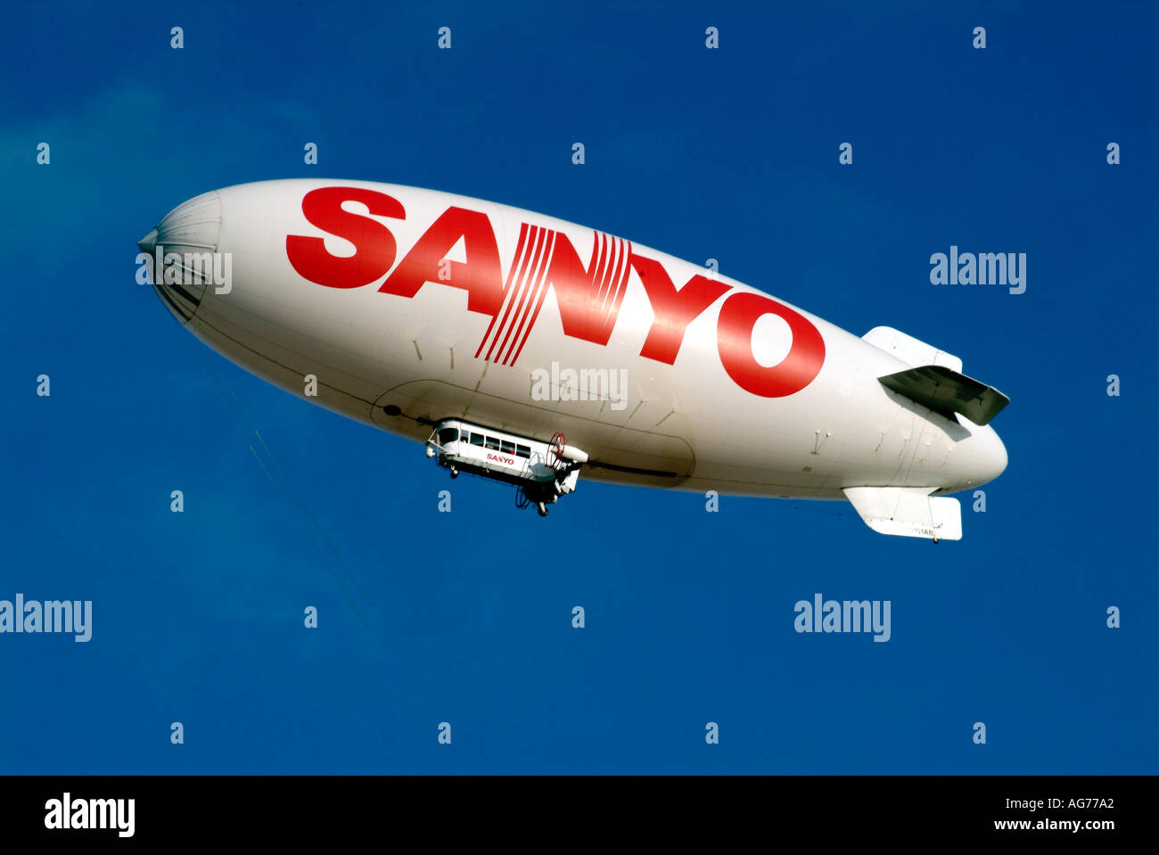 Sanyo airship blimp lighter than air electronic product electrical ...