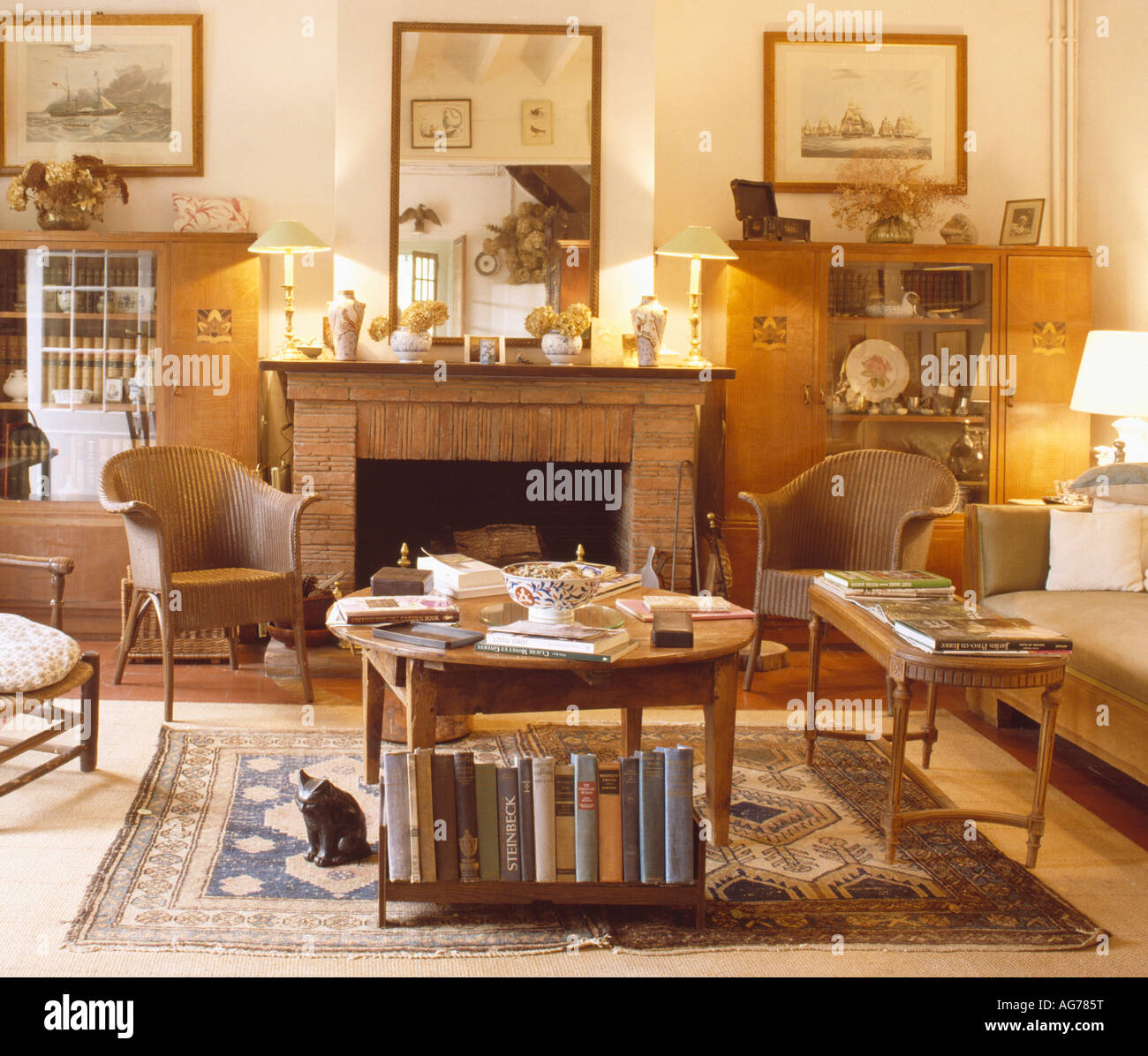 country livingroom furniture luxurious home design lighted lamps on mantelpiece in french country living room with