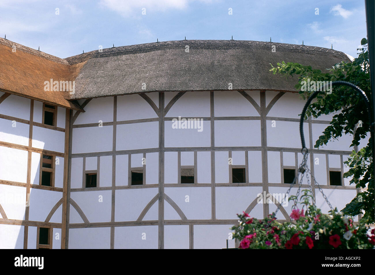 Tudor Facade the tudor facade of shakespeare s globe theatre now rebuilt on