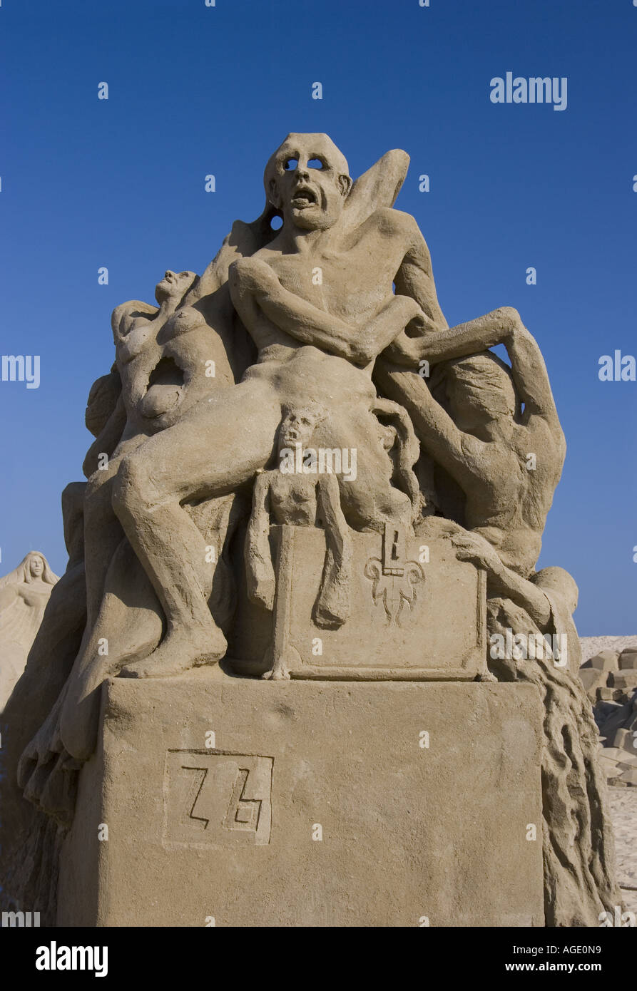 sand sculpture interpretation of the opened pandora s box from sand sculpture interpretation of the opened pandora s box from greek mythology