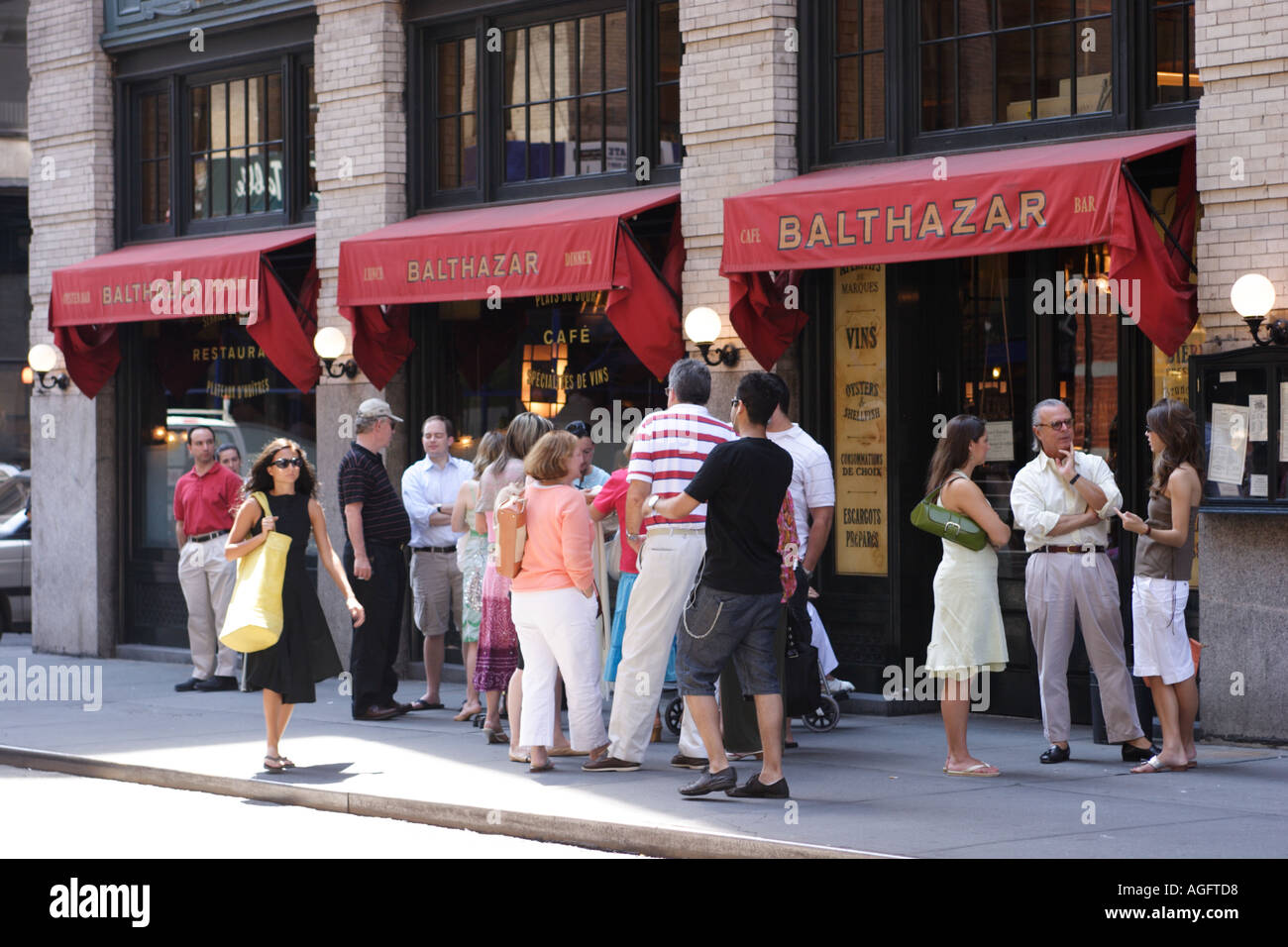 Balthazar Cafe New York