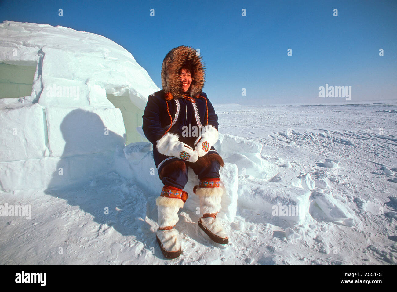 eskimo and inuit Eskimo, inuit, and inupiaq: terms used to mean this group of people: • eskimo ( singular), eskimos (plural), eskimoans (adjective), [from french esquimaux,.
