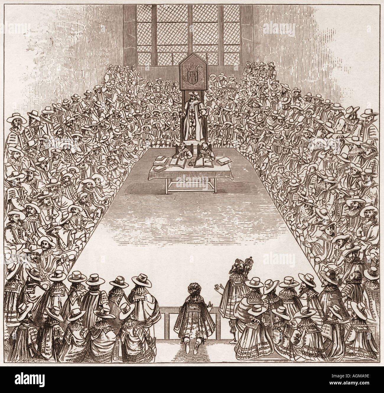 """development of english parliament during 17th century The english call the events of 1688 to 1689 the """"glorious revolution"""" because it replaced one king with another with a minimum of bloodshed and william and mary accepted the english throne from parliament recognizing supremacy of parliament."""