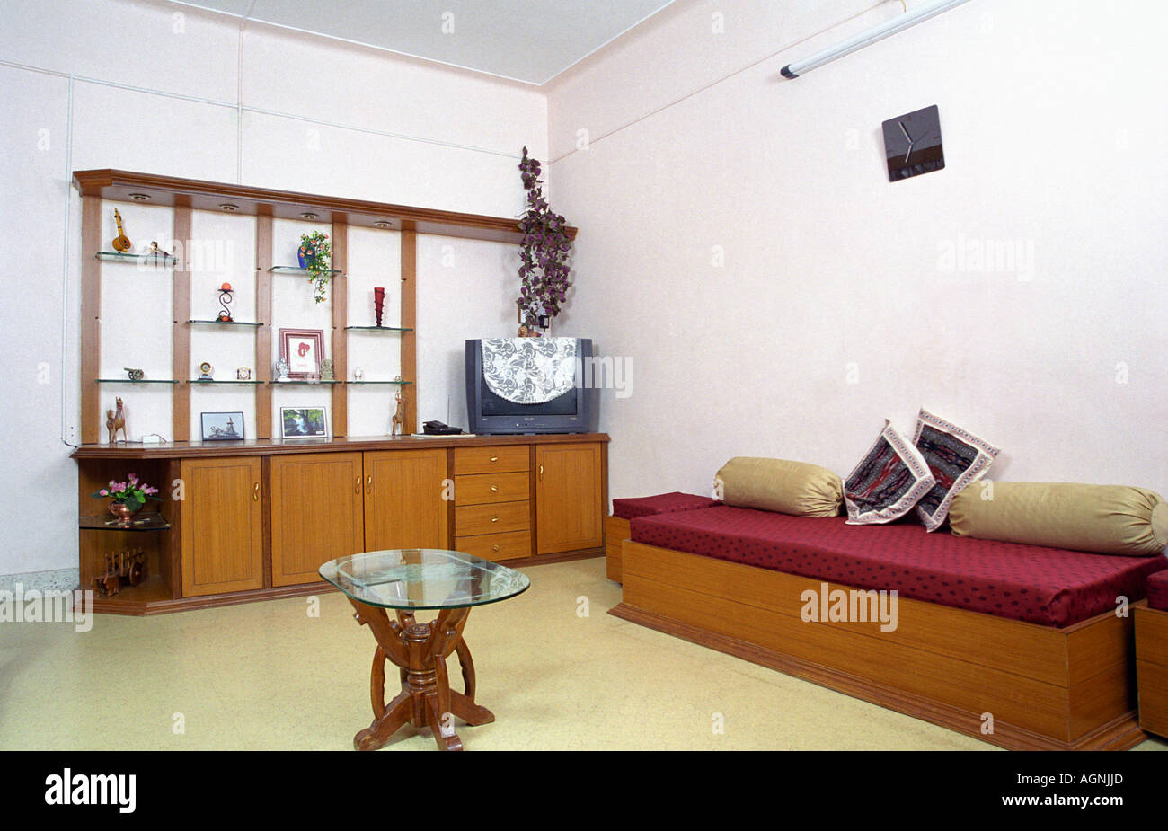 interior - a living room with tradition indian seating arrangement