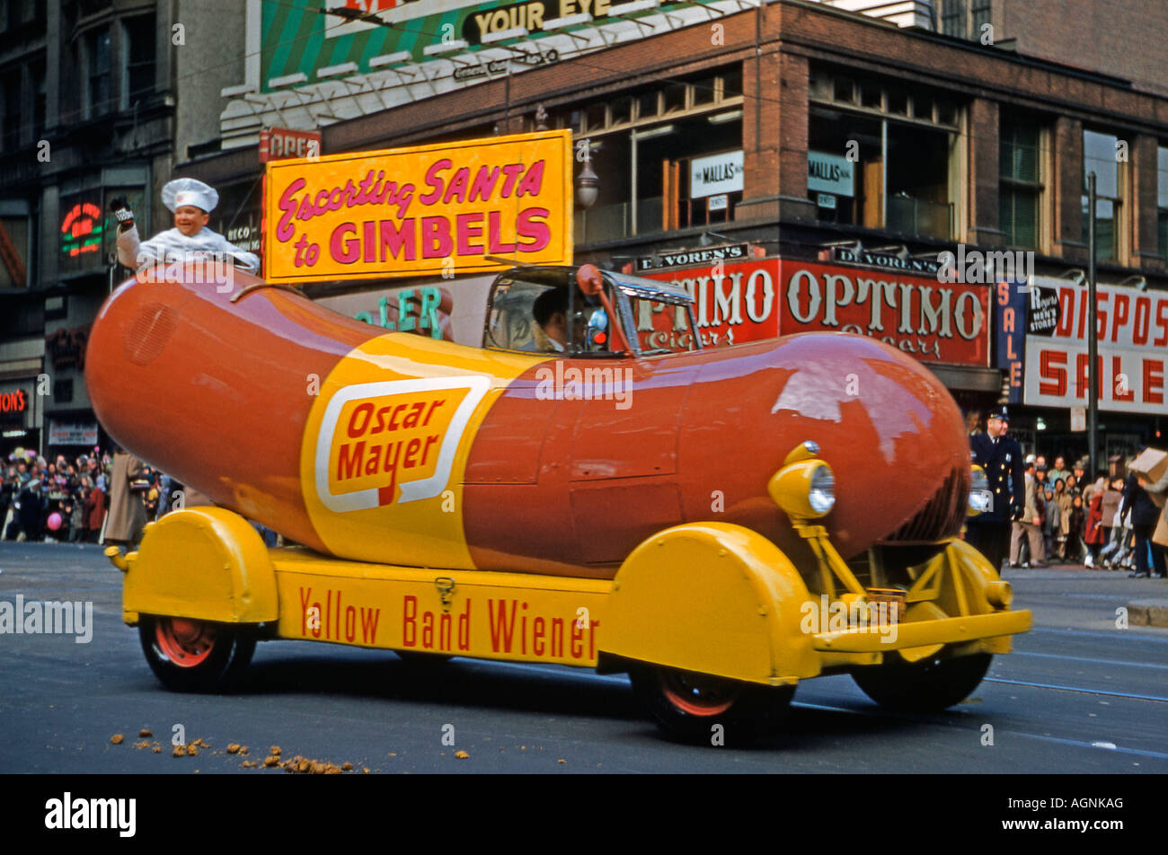 Stock Photo Hot Dog Car In Philadelphia Thanksgiving Day Parade Usa 1951 14253351 moreover RssFeed likewise War Face besides Catchy Hot Dog Slogans And Great Taglines as well 223868. on oscar mayer slogan