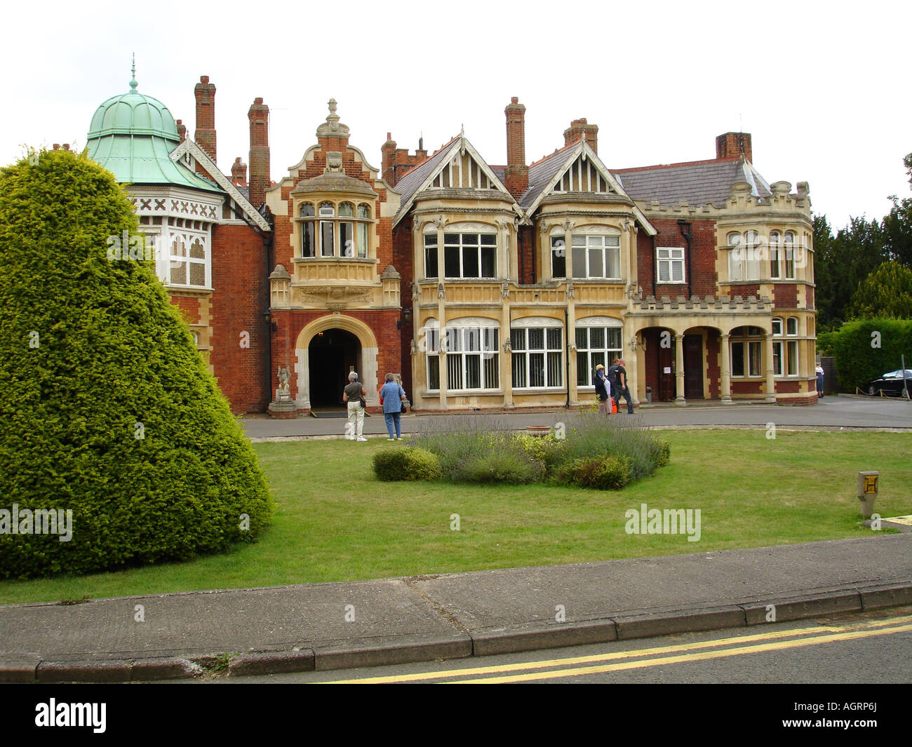 Bletchley Park Home Of The Enigma Code Breakers Buckinghamshire England