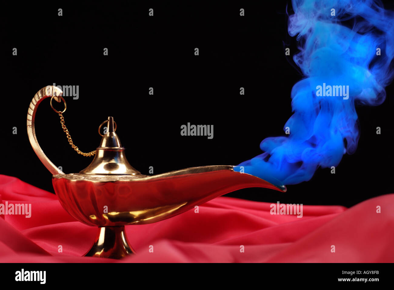 Genie s Lamp blue smoke Stock Photo, Royalty Free Image: 2668794 ... for Magic Lamp With Smoke  183qdu