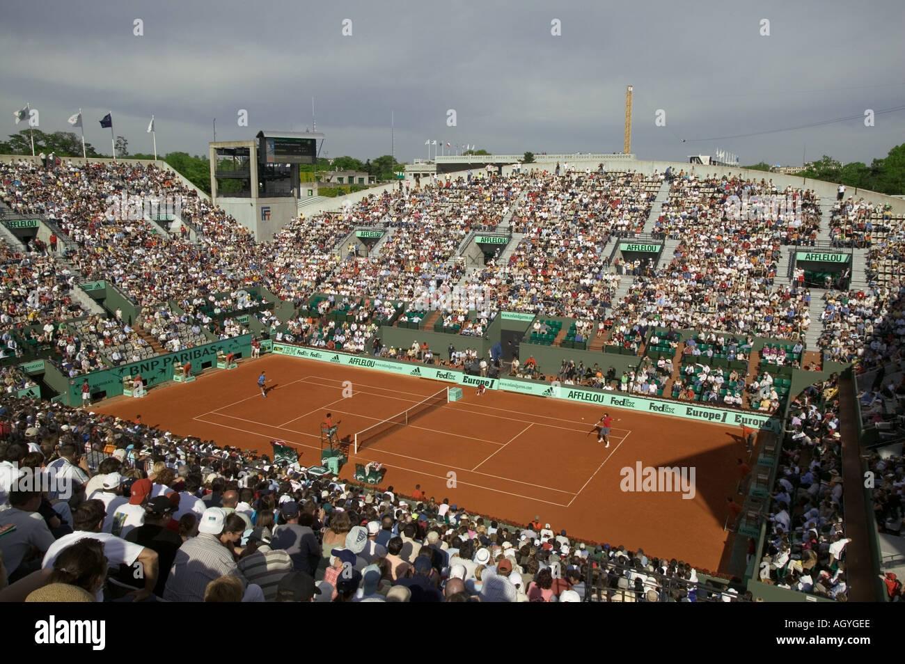 France Paris Tennis Roland Garros tournament on Suzanne Lenglen