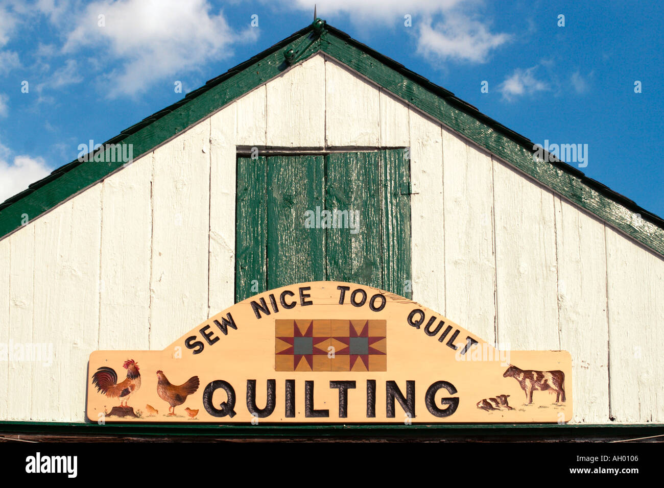 Quilt Shop, Amish Farm, Lancaster County, Pennsylvania, USA Stock ... : quilt shops in lancaster county pa - Adamdwight.com