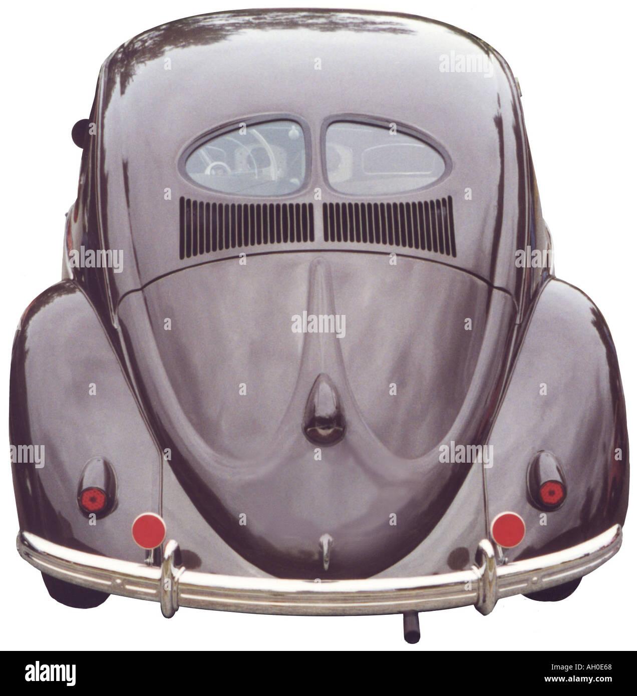 1951 volkswagen beetle rear view with classic split for 1951 volkswagen split window