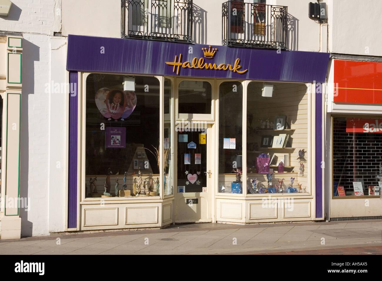 Hallmark Greeting Card Shop In Stowmarket Suffolk Uk