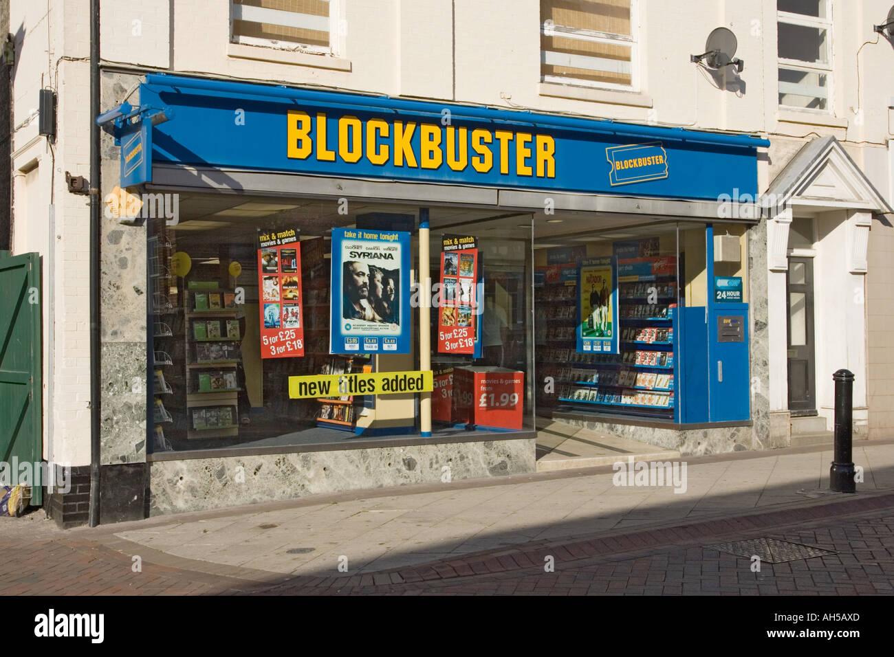 Movie rental blockbuster video