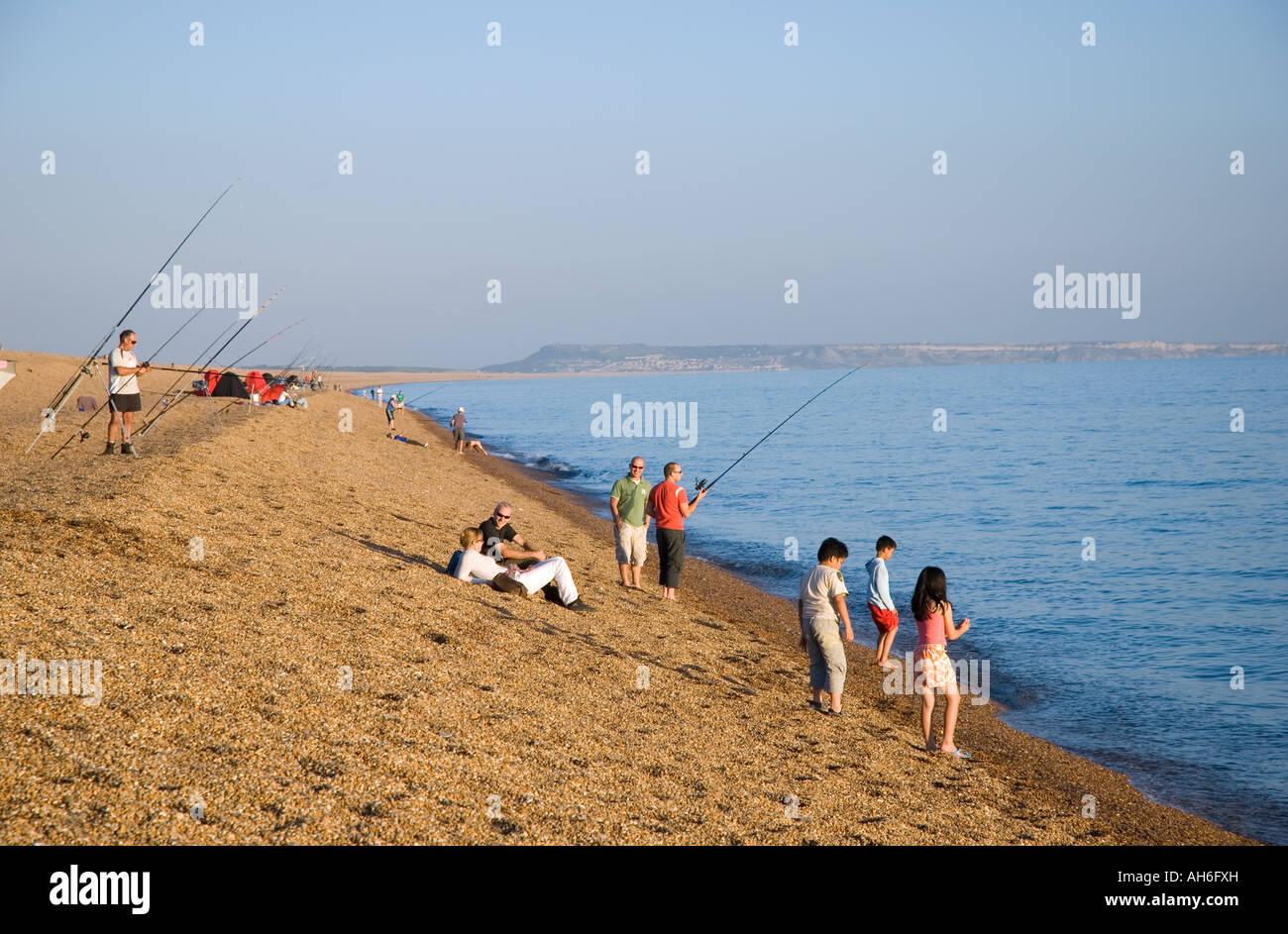 Chesil Beach Fishing Dorset