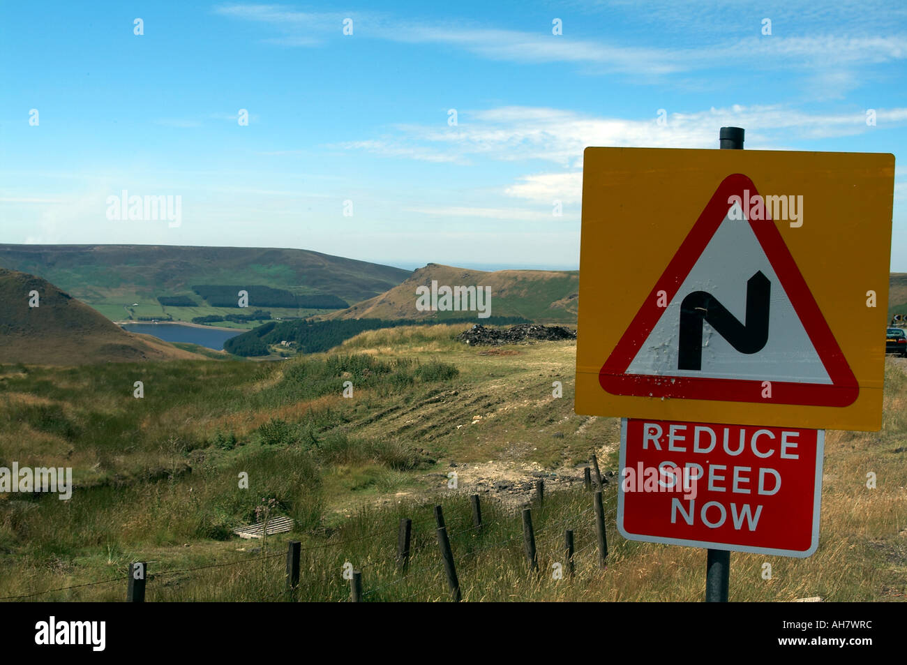 Typical Scenery Countryside Middleton In Teesdale Durham Pennines ...