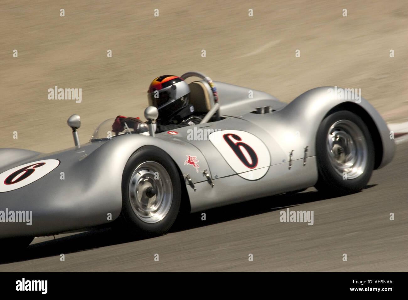 1955 Porsche Special Monterey Historic Automobile Races Stock Photo ...