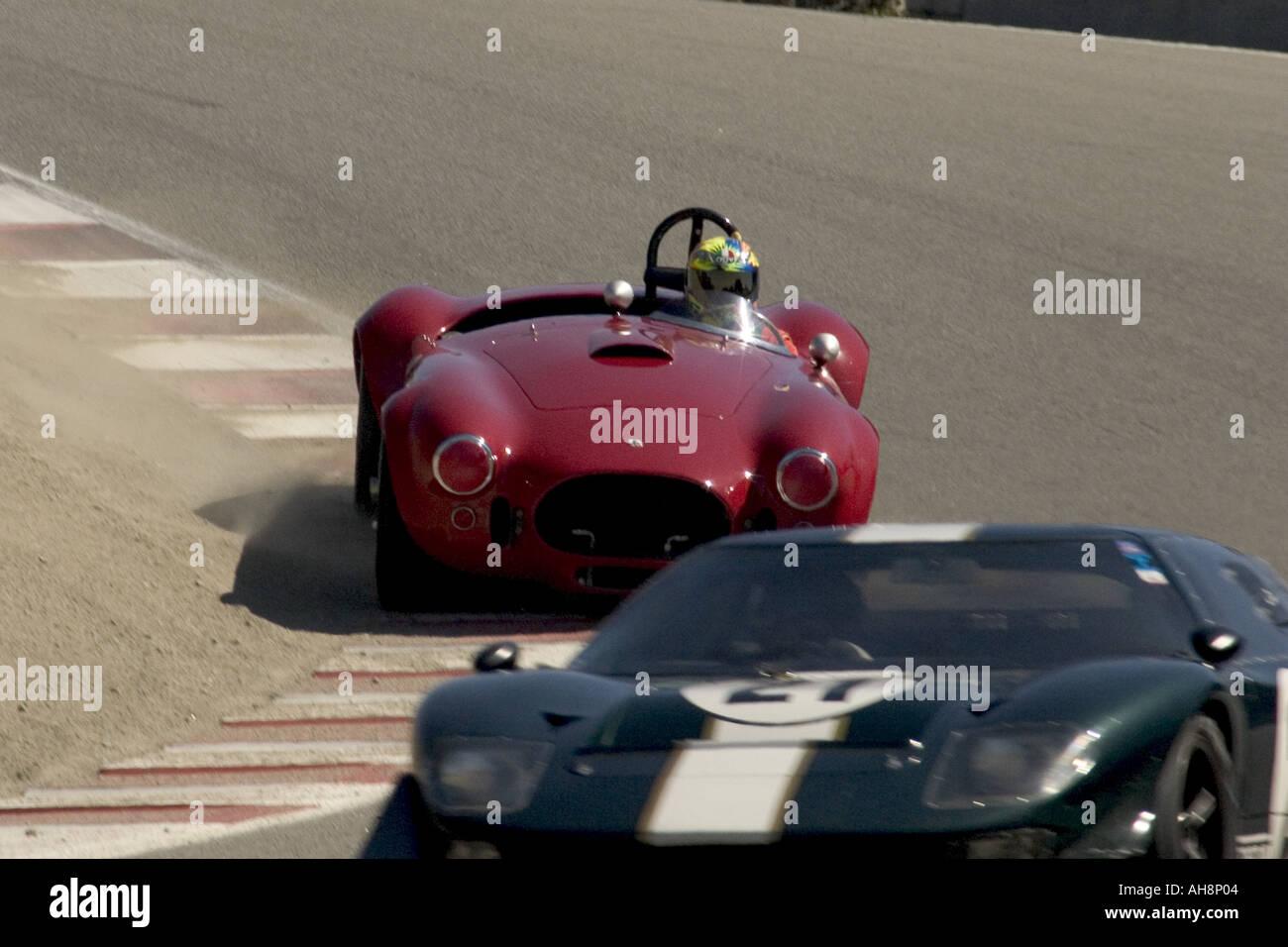 1965 Cobra 427 Monterey Historic Automobile Races Stock Photo ...