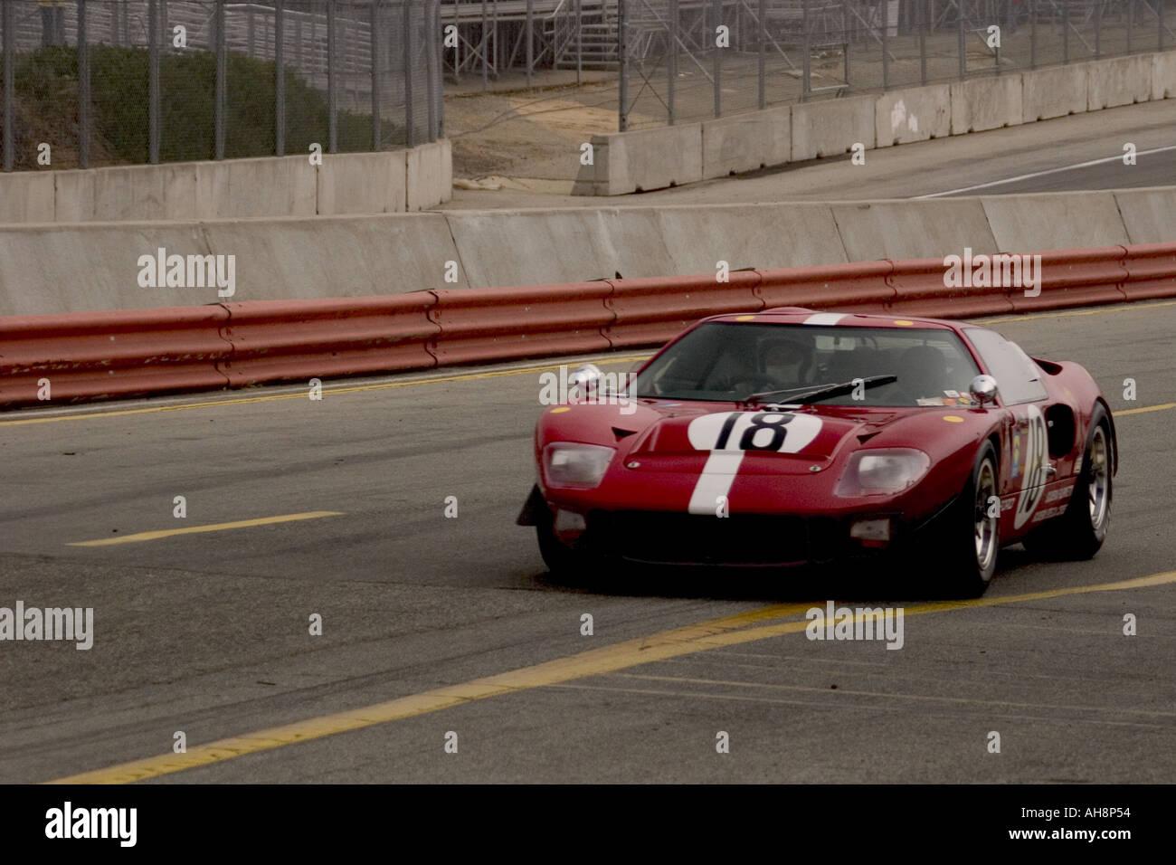1966 Ford GT 40 Race Car Monterey Historic Automobile Race Stock ...