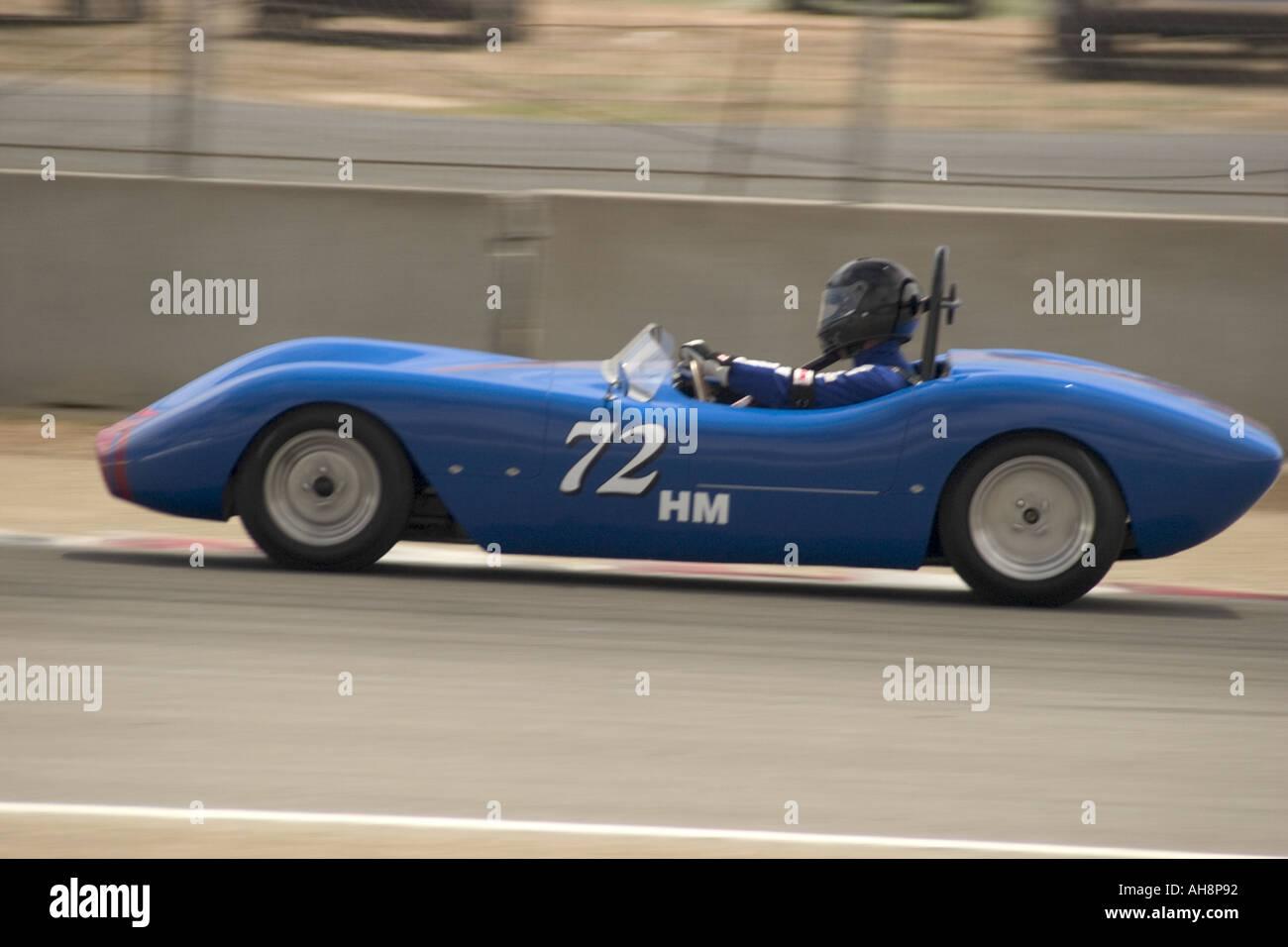 1955 Shannon Crosley Monterey Historic Automobile Races Stock Photo ...
