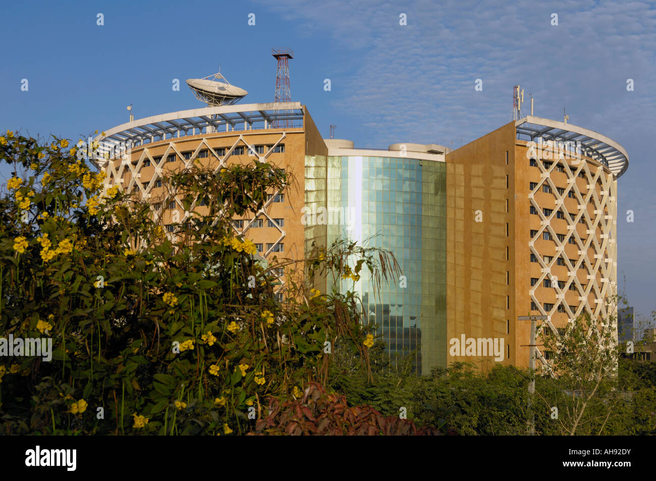 Post Modern Building In Hi Tech City Hyderabad Andhra Pradesh India