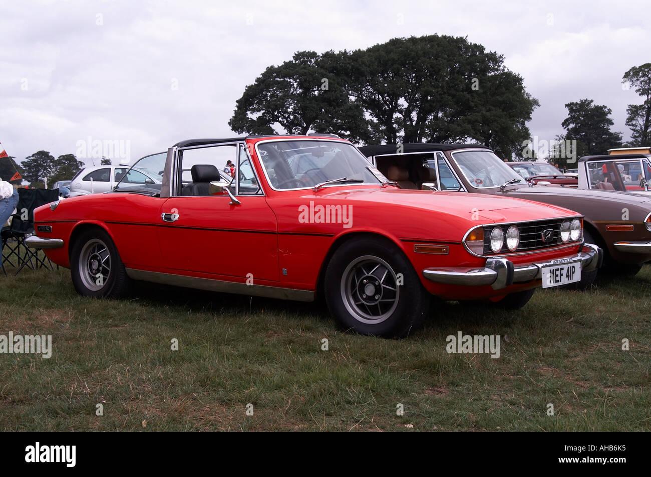 Triumph Stag Car British Sports Car Luxury Stock Photo Royalty - British sports cars 70s