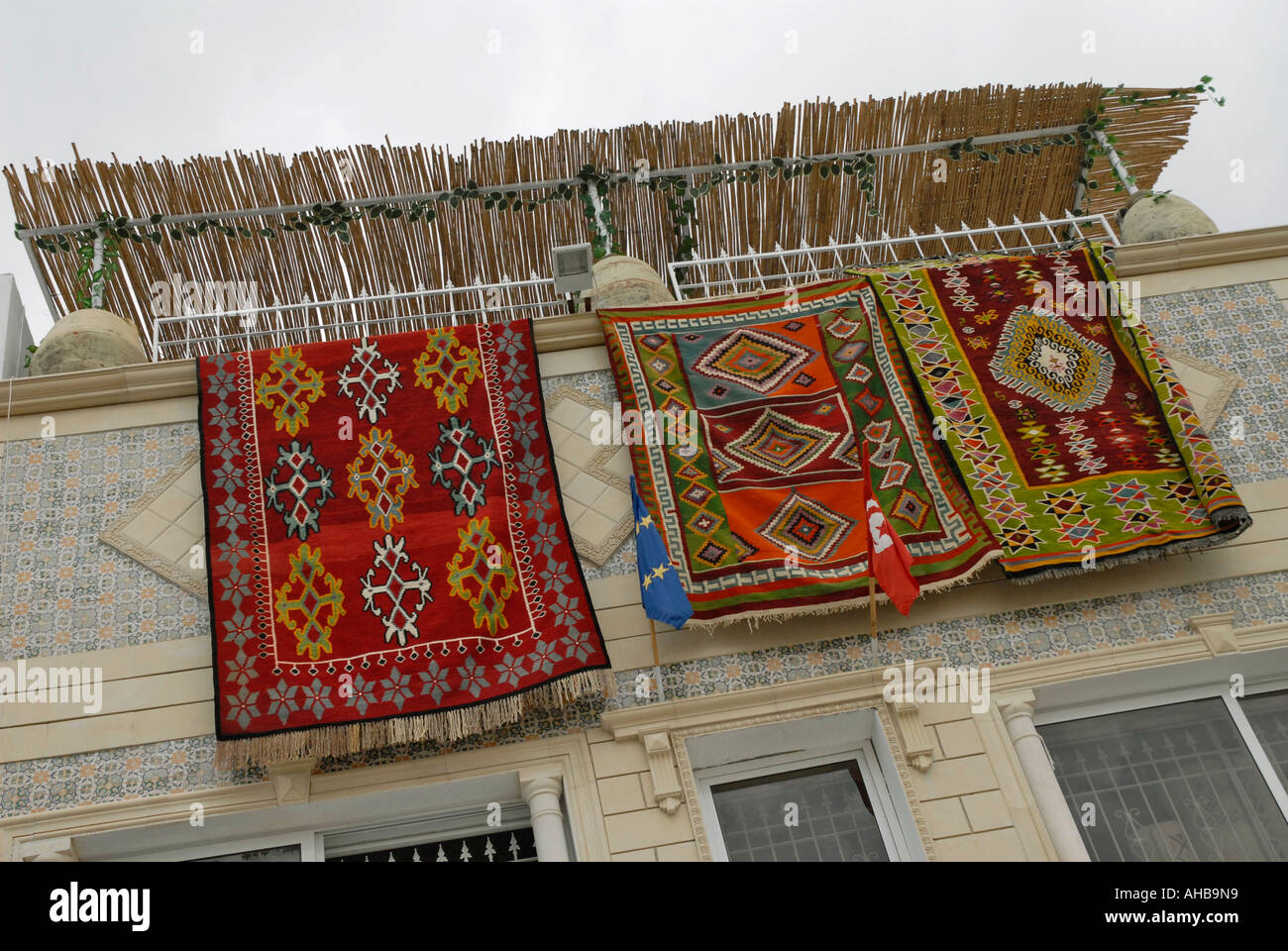 Hanging Rugs Traditional Carpets And Rugs Hanging On Display For Sale In