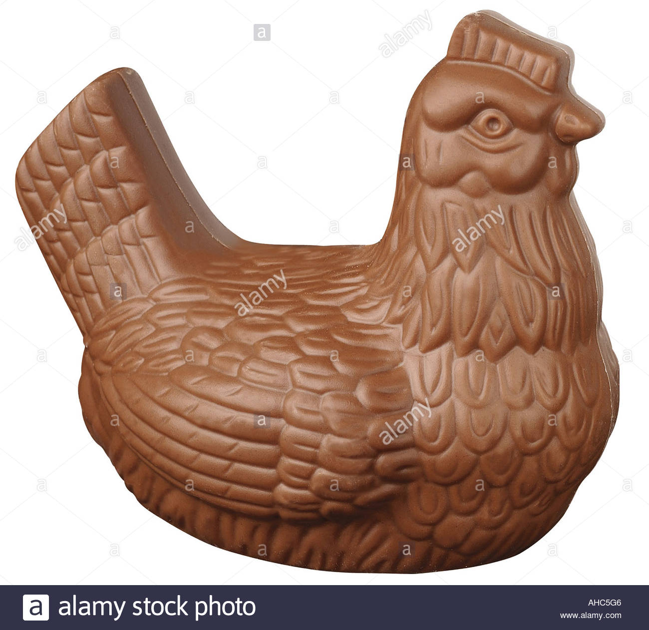 easter chocolate hen stock photo royalty free image 8244165 alamy