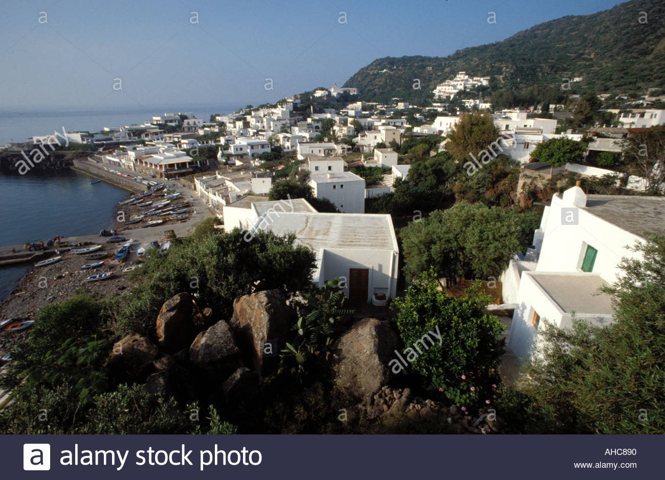 Panarea Italy  City pictures : San Pietro Panarea Island Sicily Italy Stock Photo, Royalty Free Image ...
