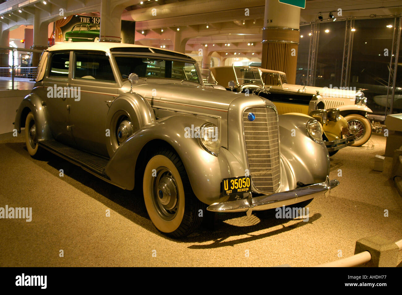 Luxury old car, Henry Ford Museum Stock Photo: 4713846 - Alamy