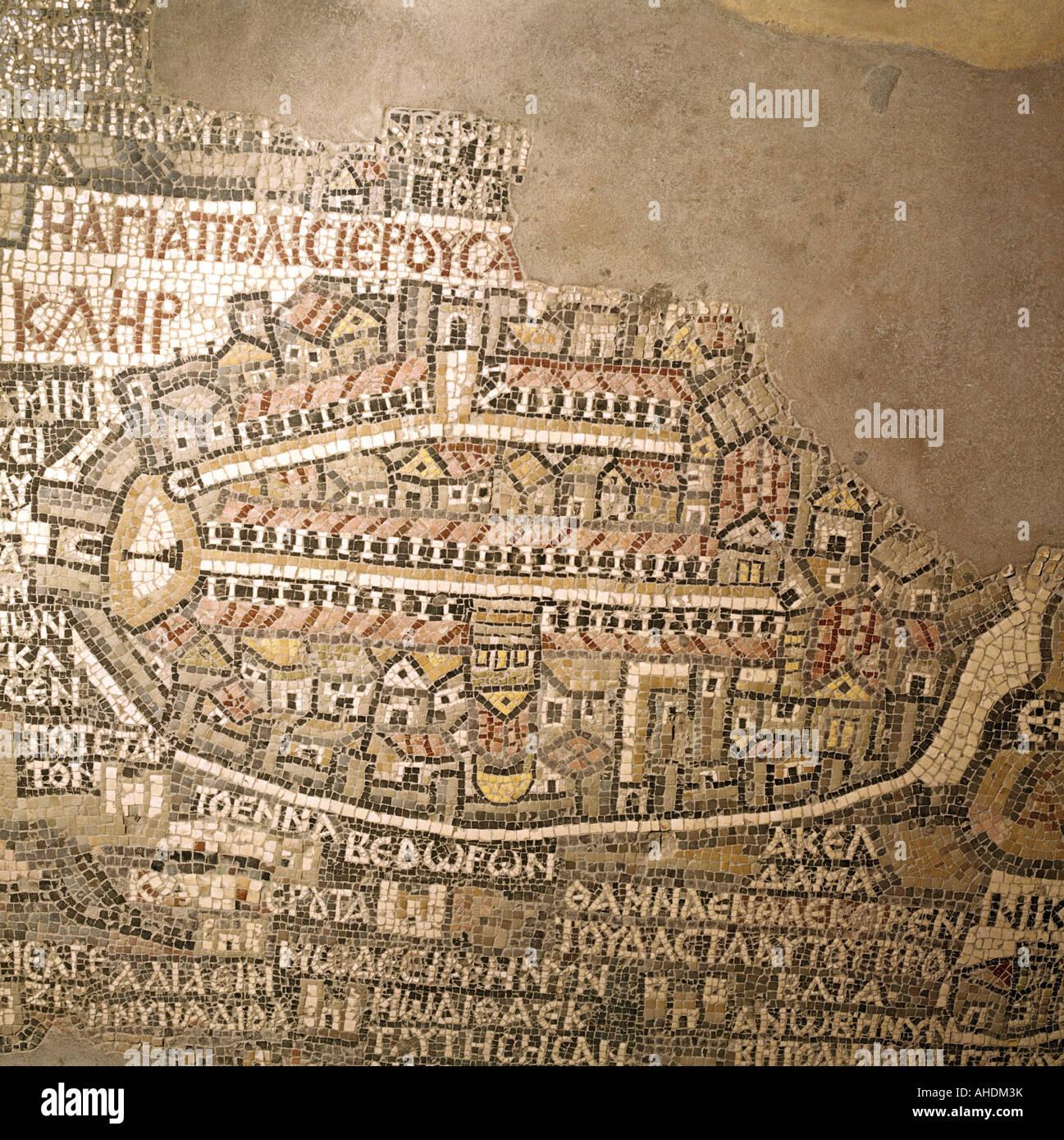 cartography maps oldest map of Palestine detail Jerusalem 6th