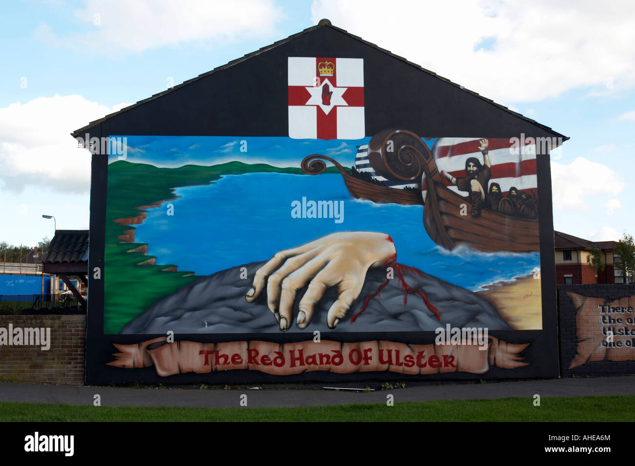 Loyalist Red Hand Of Ulster Murals In The Lower Shankill. Shopee Banners. Two Color Vinyl Stickers. White Vinyl Banners. Herakut Murals. Adwords Banners. Surf Fishing Decals. Doki Doki Literature Club Stickers. Photographer Car Decals
