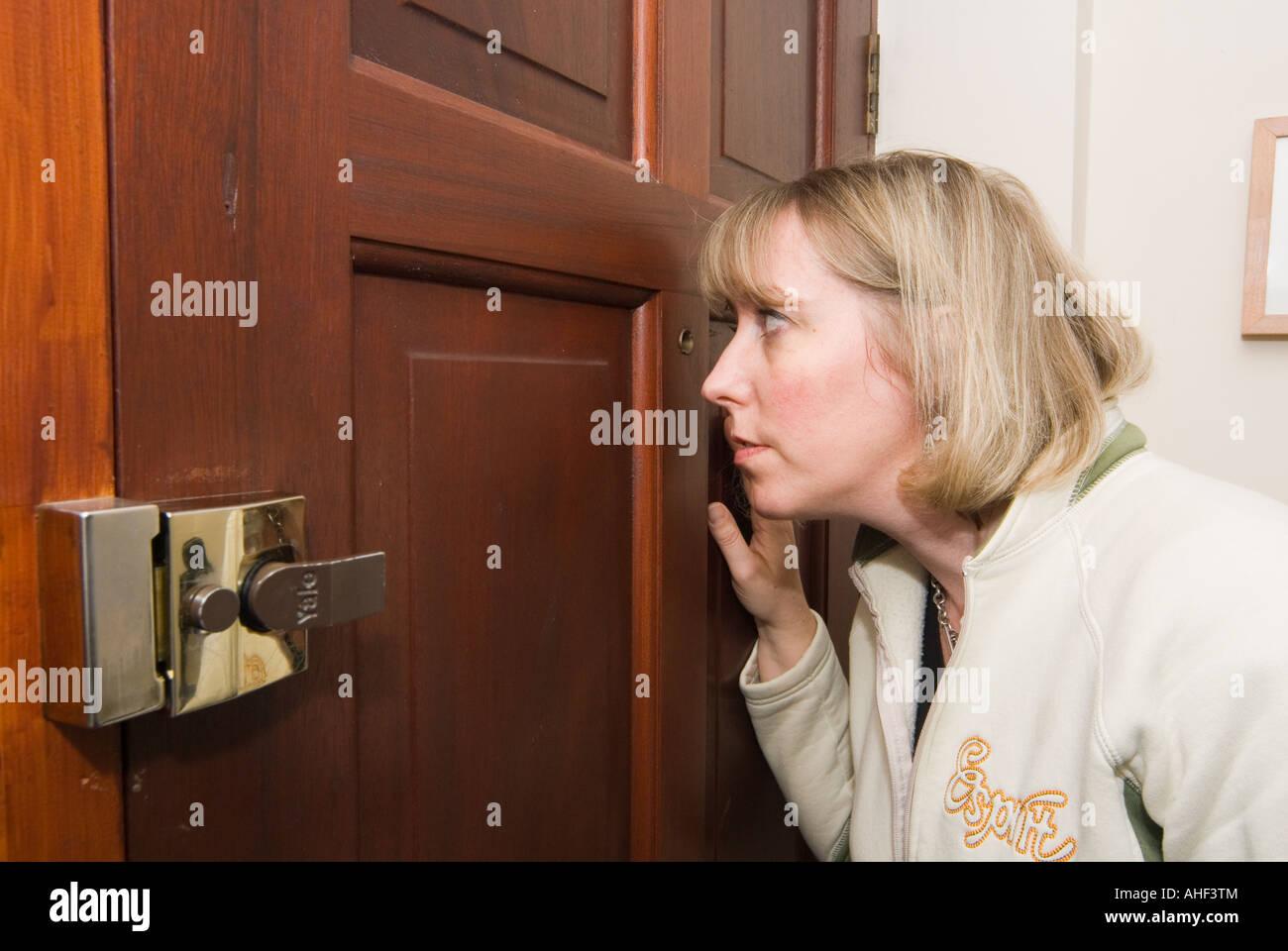 In through the back door voyeur