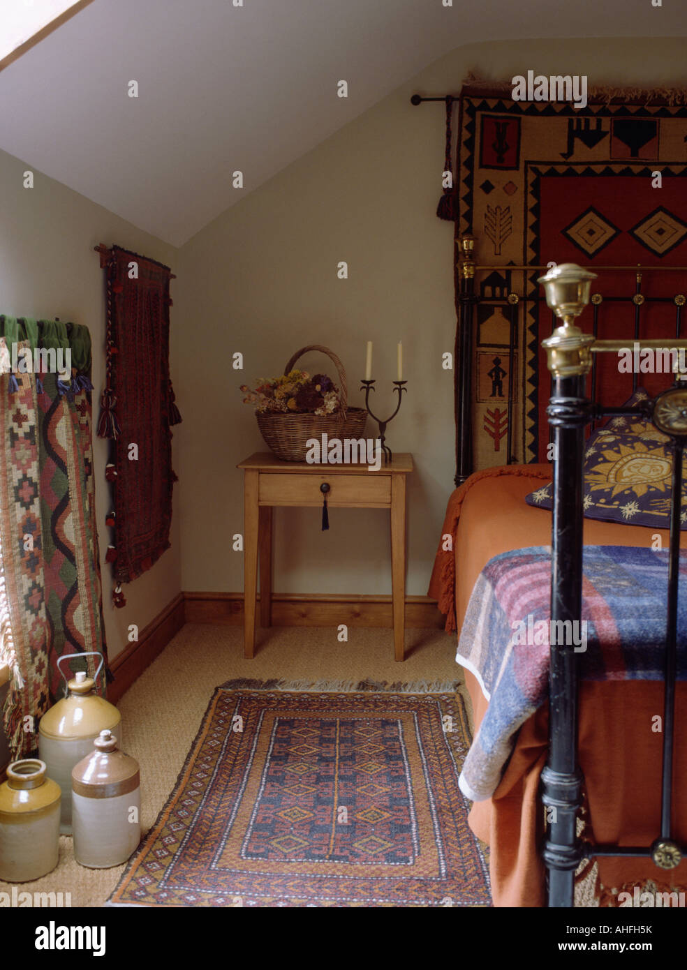 Oriental Rug On Carpet