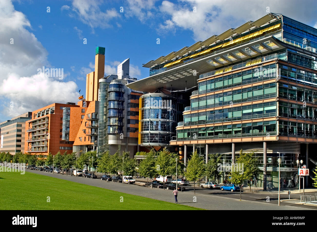 Modern Architecture Germany modern architecture of apartments and offices at daimler chrysler