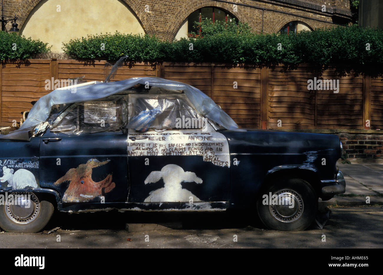 Old car for sale London UK Stock Photo, Royalty Free Image: 2690660 ...