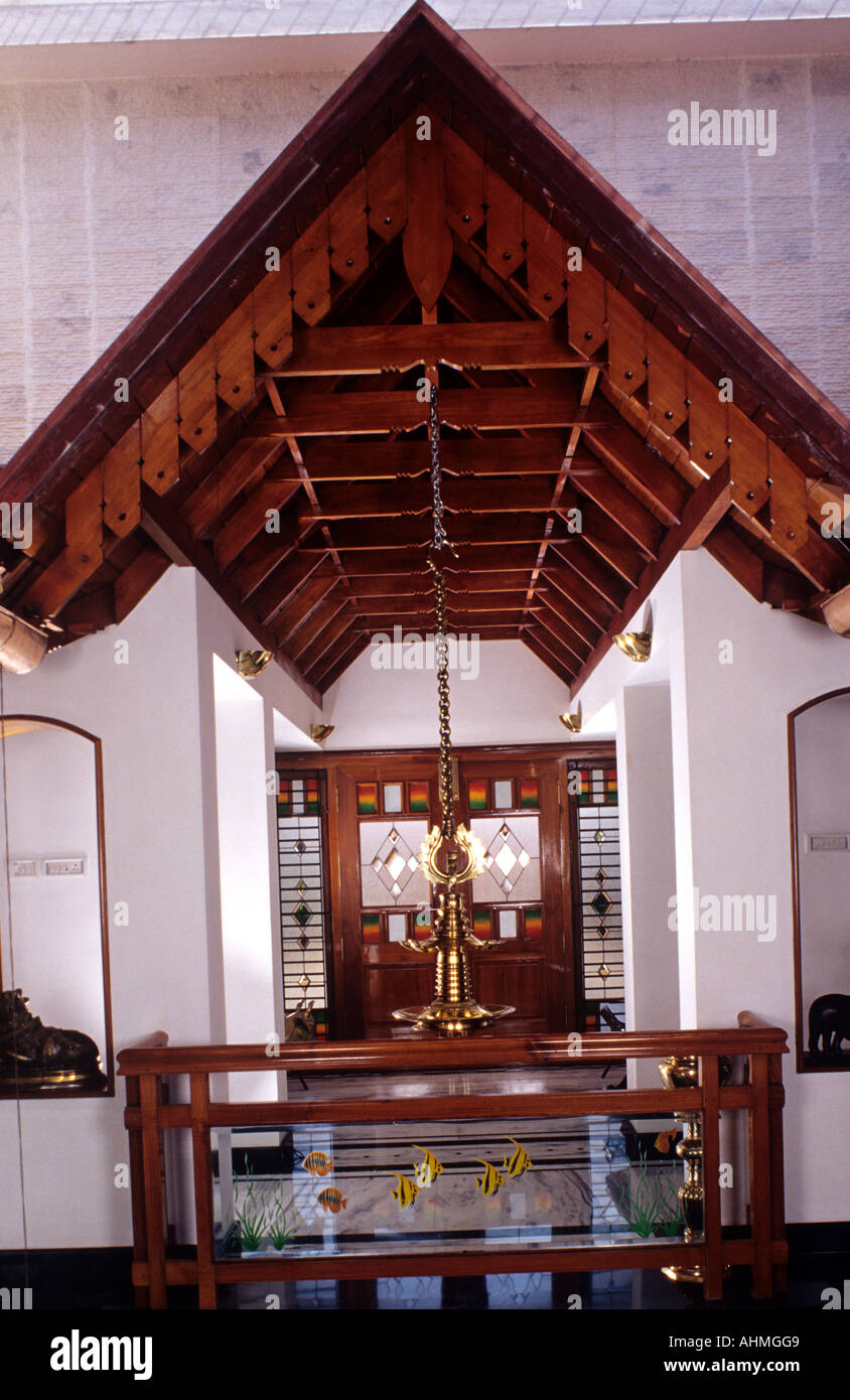 interiors of a house built in traditional style of architecture