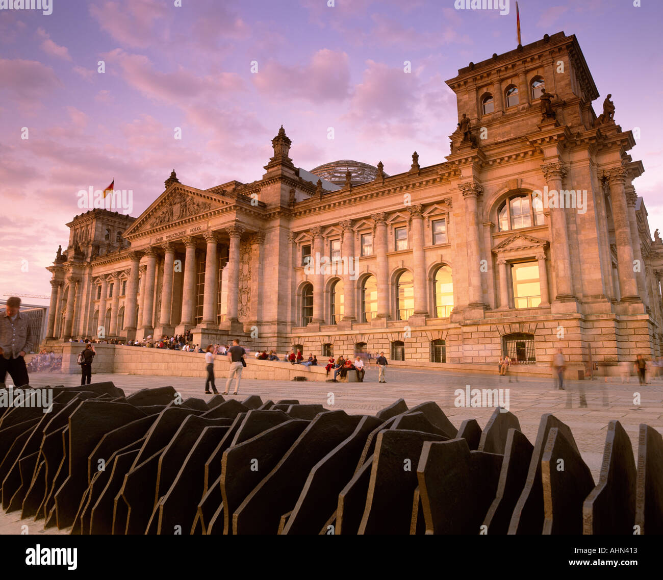 norman foster dome over the reichstag parliament building berlin stock photo royalty free image. Black Bedroom Furniture Sets. Home Design Ideas