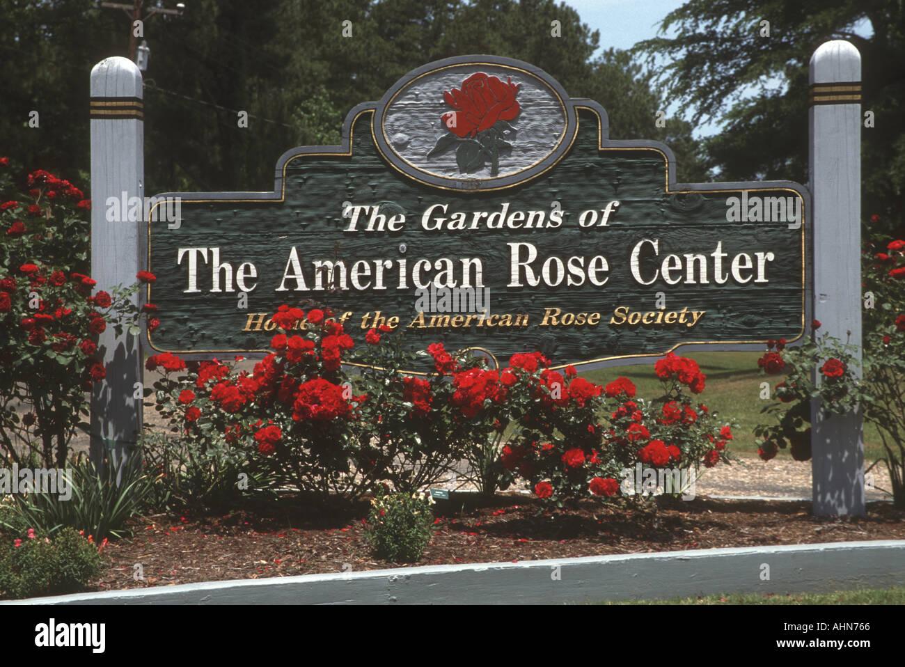 American Rose Society Gardens Shreveport Louisiana Stock Photo Royalty Free Image 2692965 Alamy