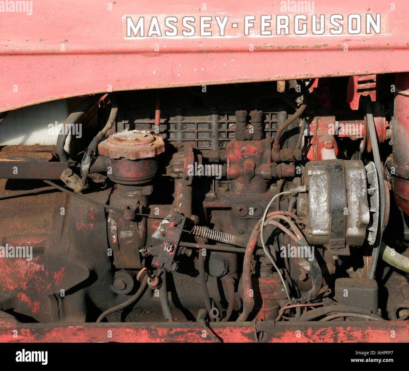 how to change oil massey ferguson 35 perkins diesel engine