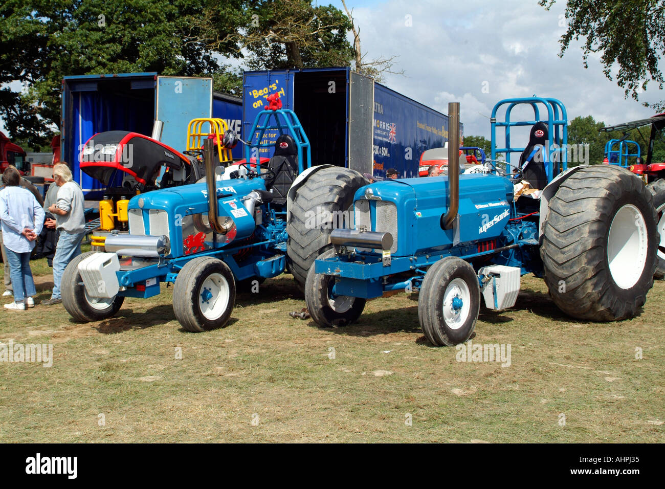 Originally Just A Farm Tractor Now A Suped Up Racing Tractor Stock - Suped up
