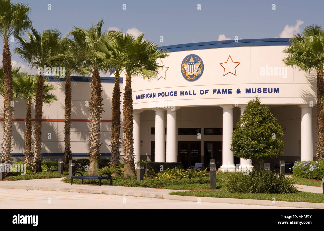 Foyer Museum Usa : American police hall of fame building at titusville fl usa